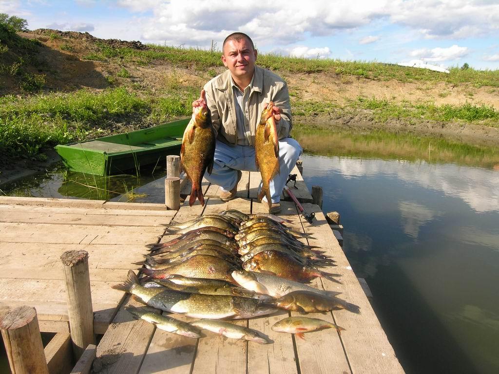 Где находятся места для рыбалки в Калининграде?