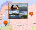 Реки Калининграда и Северо-Западного ФО