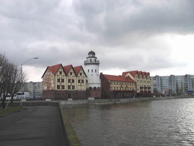 С каких обзорных и смотровых площадок Калининграда открывается красивый вид на город?