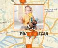 Где купить товары для детей в Калининграде?