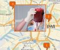 Где находятся станции переливания крови в Калининграде?