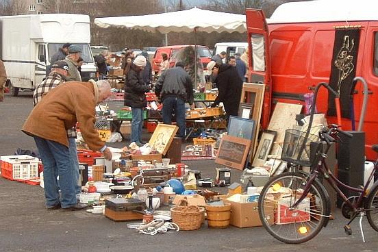 Блошиные рынки и брахолки Калининграда