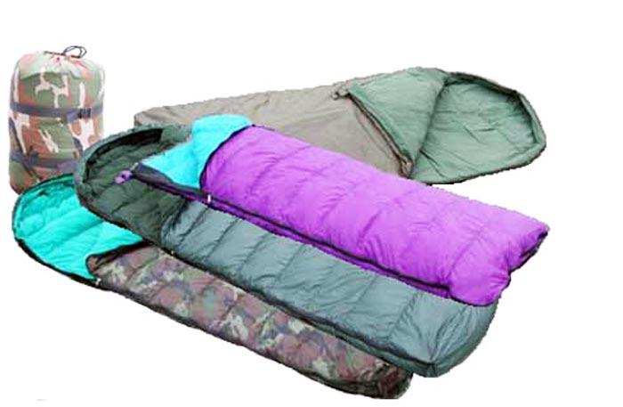 Где купить туристический рюкзак и спальный мешок в Калининграде?