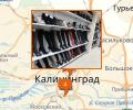 Где находятся магазины обуви в Калининграде?