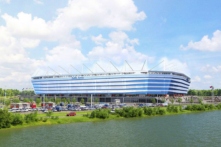 Крупнейшие спортивные комплексы и стадионы Калининграда