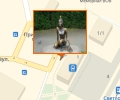 Скульптура Царевна-лягушка в Светлогорске