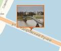 Пешеходный мост через реку Волхов в Великом Новгороде